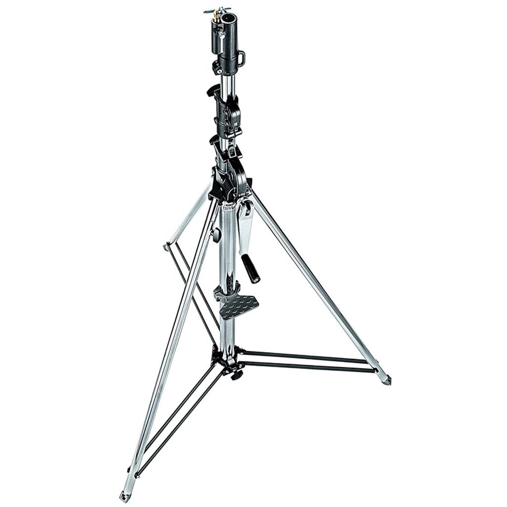 Manfrotto 087 wind-up statief