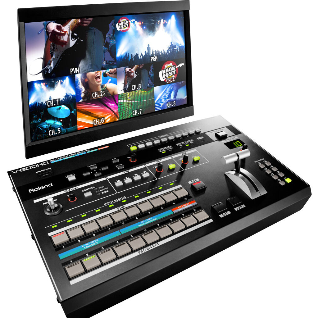Roland V800HD video mixer