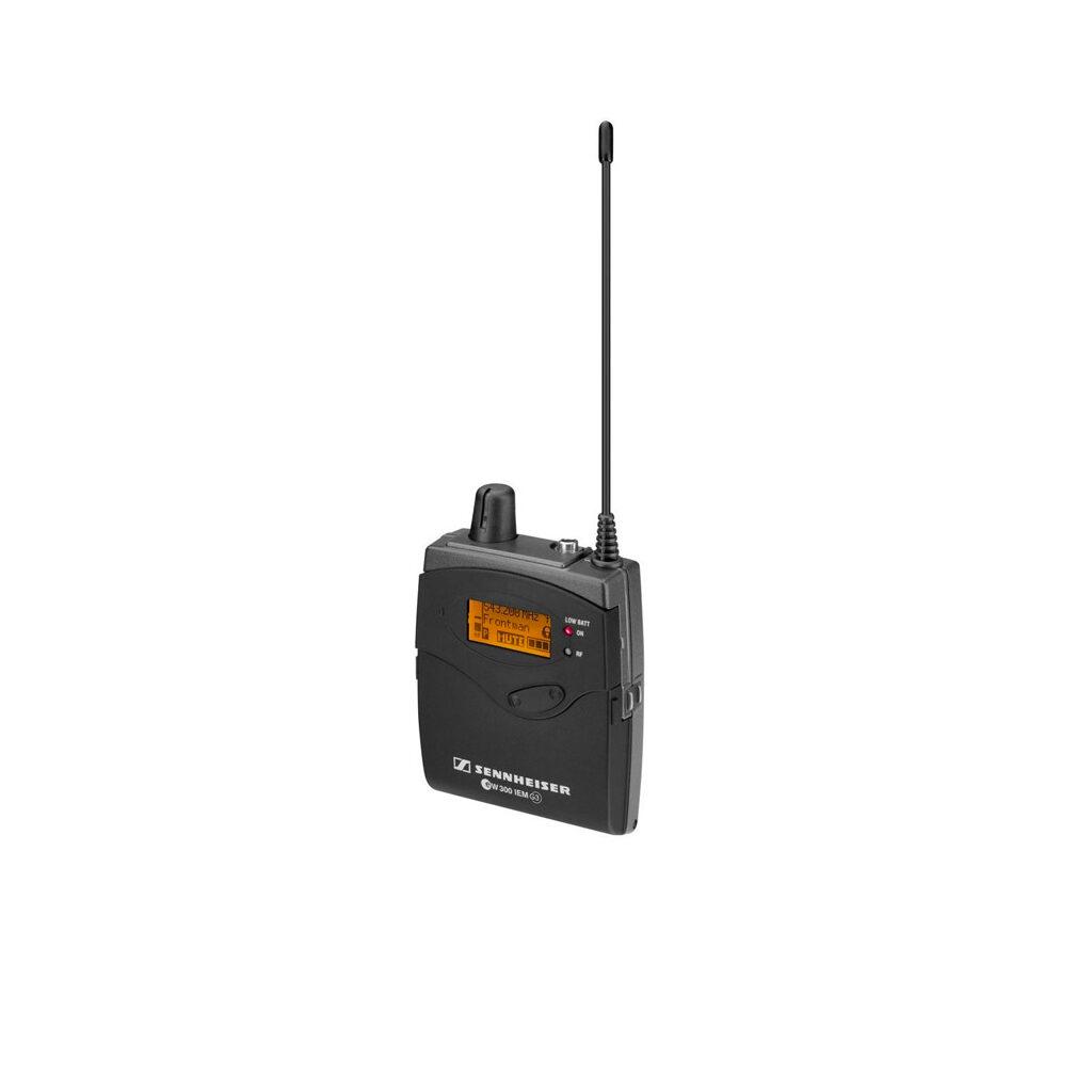 Sennheiser IEM 300 – EK 300 G3 -B – Beltpack