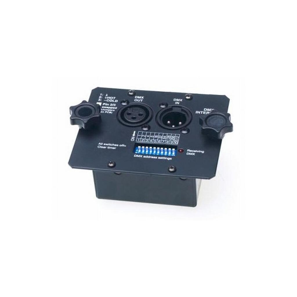JEM pro 2000 rookmachine manual interface