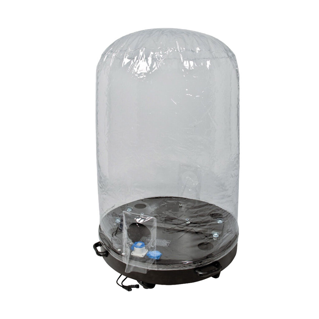 Movinghead Dome staand 1,5 + 1,2mtr
