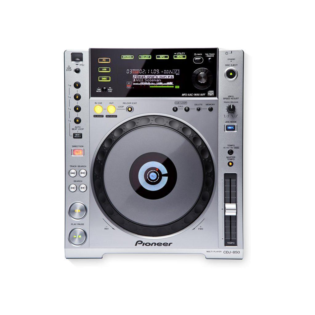 Pioneer CDJ-850 usb/cd speler